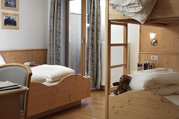 Hotelzimmer, Holz Einrichtung