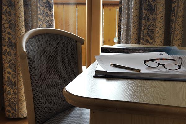 Schreibtisch Hotelzimmer