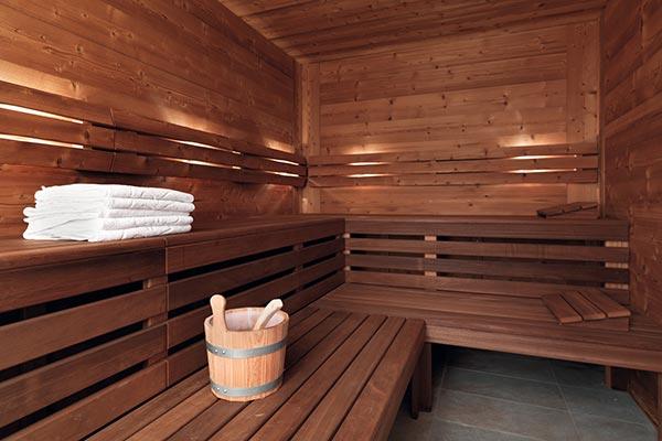 Sauna des Hotels