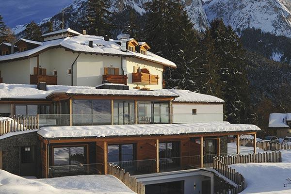 Außenbereich Hotel Villa Madonna
