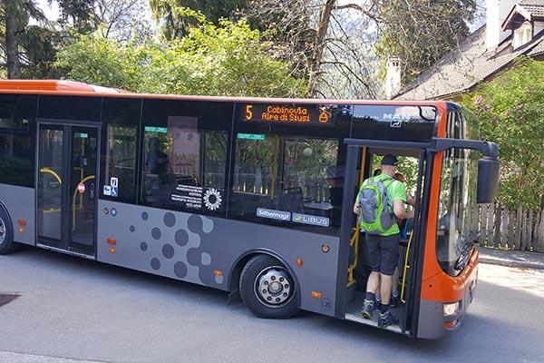 Bus Seiser Alm