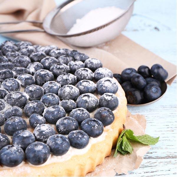 Blaubeerkuchen glutenfrei