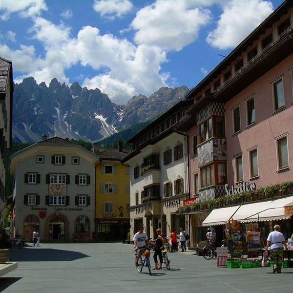 Dorf Seiser Alm