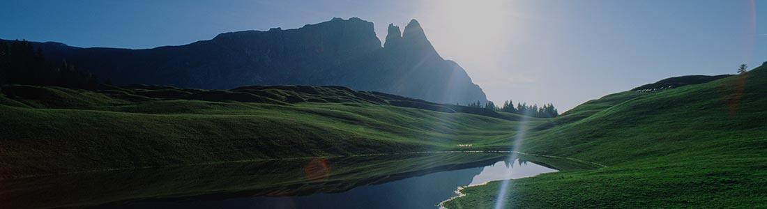 Seiser Alm - Panorama Wanderwege im Sommer