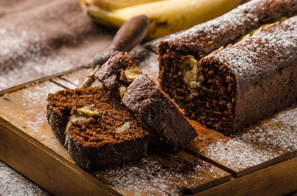 Glutenfreie Bananen-Schokokuchen